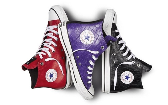 Stussy x Converse Chuck All Star Hi